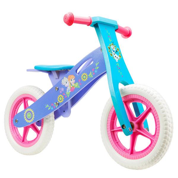"Seven Polska Детско дървено колело за баланс ""FROZEN"" 9907"